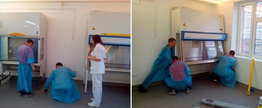 демонтаж медицинского оборудования