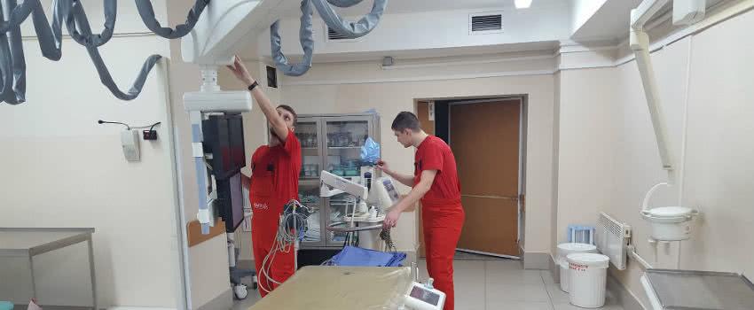 сервисное обслуживание медицинской техники