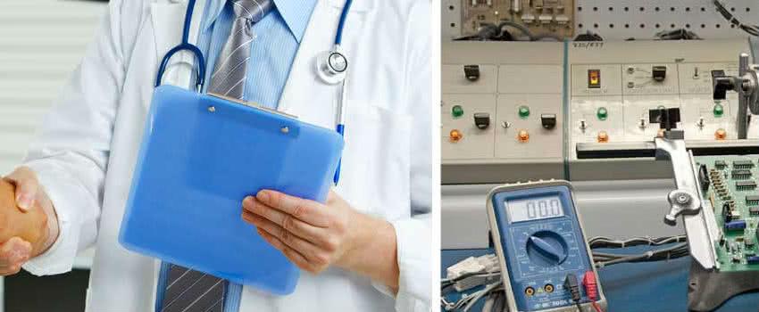 Обслуживания медтехники